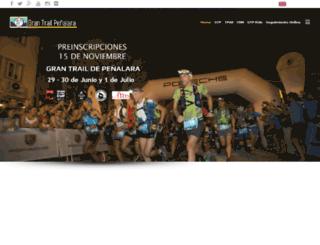 grantrail.es screenshot