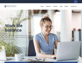 grantrevert.com screenshot