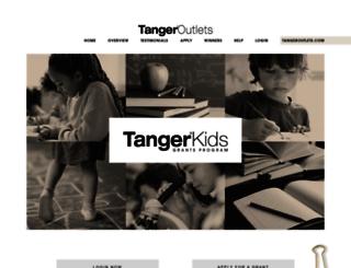 grants.tangeroutlet.com screenshot