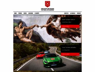 granturismoevents.com screenshot
