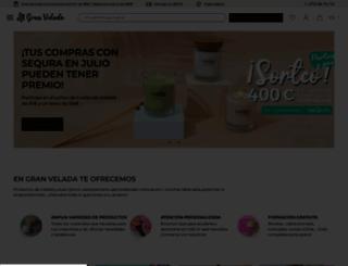 granvelada.com screenshot