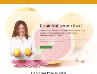 grapefruitkernextrakt.de screenshot