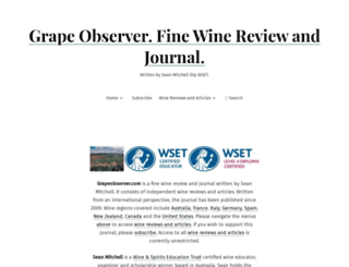 grapeobserver.com screenshot