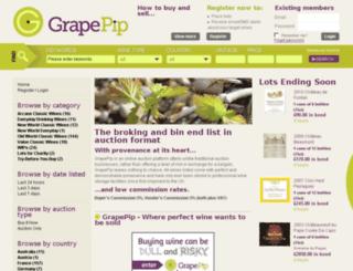 grapepip.co.uk screenshot