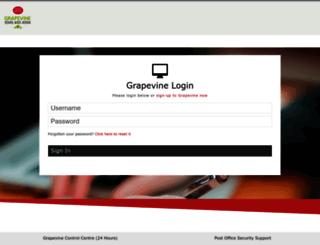 grapevine.co.uk screenshot