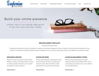grapevinecs.com screenshot