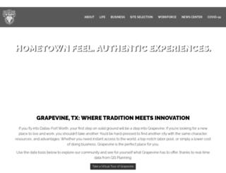 grapevineecodev.com screenshot
