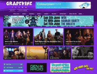 grapevinelive.co.uk screenshot