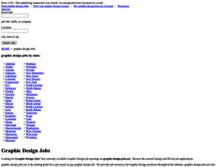 graphic-design.jobs.net screenshot