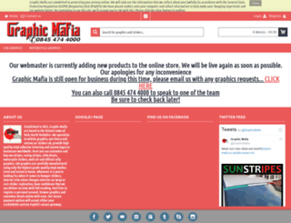 graphic-mafia.co.uk screenshot