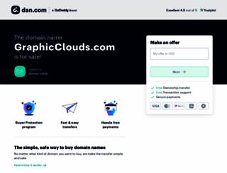 graphicclouds.com screenshot
