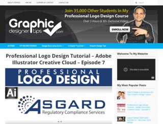 graphicdesignertips.com screenshot