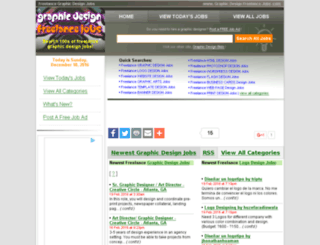 graphicdesignfreelancejobs.com screenshot