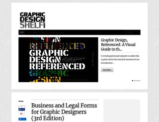 graphicdesignshelf.com screenshot