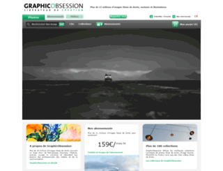 graphicobsession.com screenshot