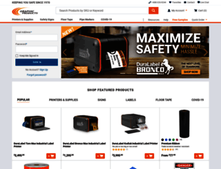 graphicproducts.com screenshot