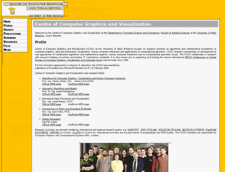 graphics.zcu.cz screenshot