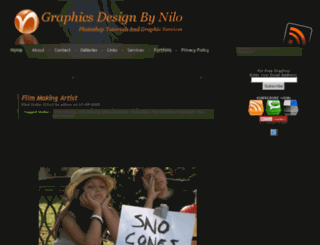 graphicsdesignbynilo.info screenshot