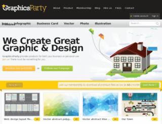 graphicsparty.com screenshot