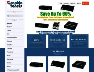 graphictoners.com screenshot