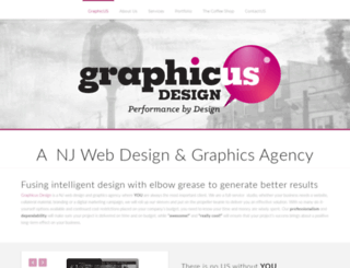 graphicusdesign.com screenshot
