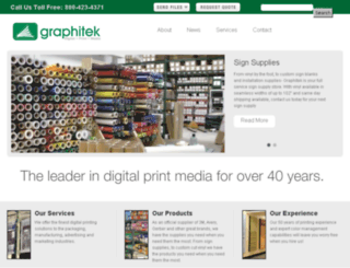 graphitek.com screenshot
