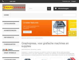 graphopress.be screenshot