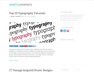 grapplegraphics.com screenshot