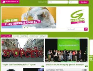 gras-kaernten.gruene.at screenshot