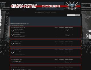graspop-festival.frenchboard.com screenshot