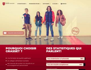grasset.qc.ca screenshot