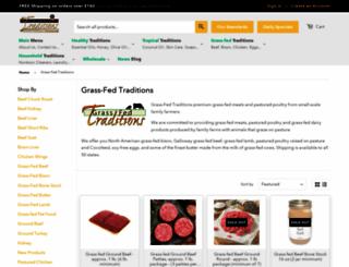 grassfedtraditions.com screenshot