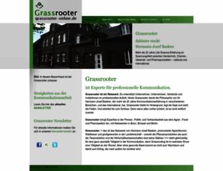 grassrooter-online.de screenshot