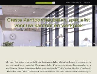 grastekantoormeubelen.nl screenshot