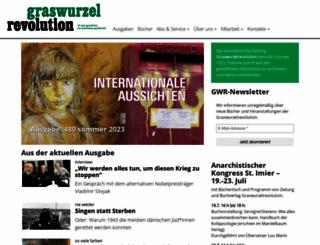 graswurzel.net screenshot