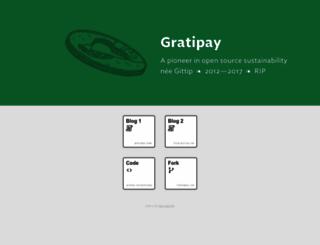 gratipay.com screenshot