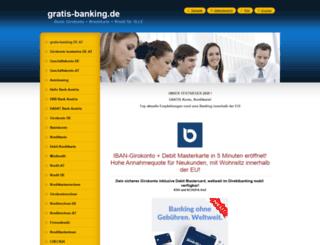 gratis-banking.de screenshot