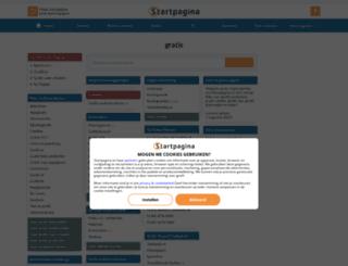 gratis.pagina.nl screenshot