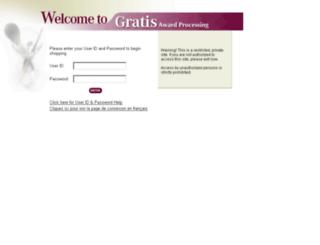 gratisawards.com screenshot