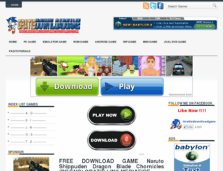 gratisdownloadgame.blogspot.com screenshot