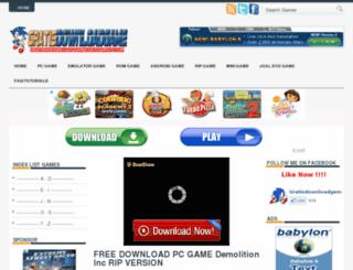 gratisdownloadgame.blogspot.in screenshot