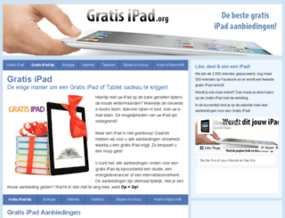 gratisipad.org screenshot