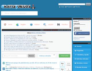 gratisjuegos.biz screenshot