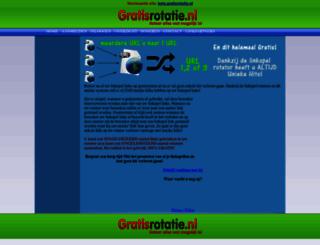 gratisrotatie.nl screenshot