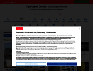 gratka.pl screenshot