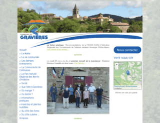gravieres.fr screenshot