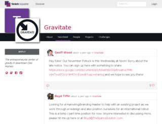 gravitate.townsqua.re screenshot
