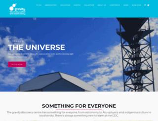 gravitycentre.com.au screenshot