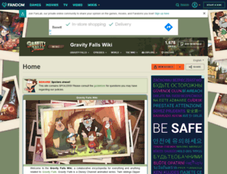 gravityfalls.wikia.com screenshot