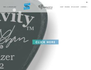 gravitypicks.com screenshot